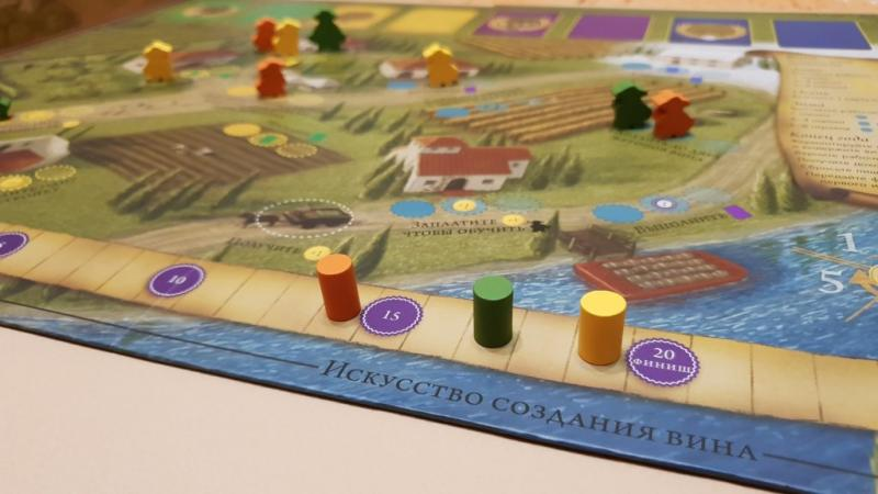 Настольная игра Виноделие 1