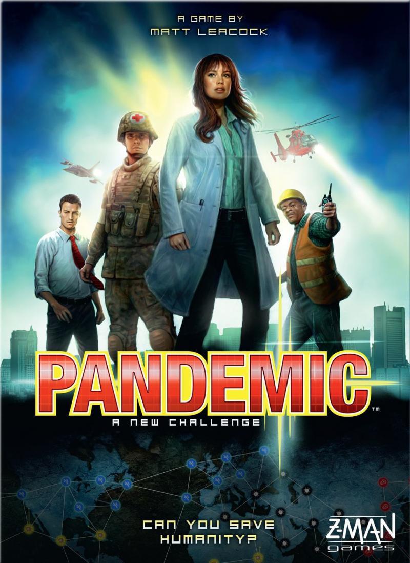 настольная игра Pandemic Пандемия