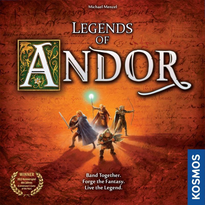 настольная игра Legends of Andor Легенды Андора
