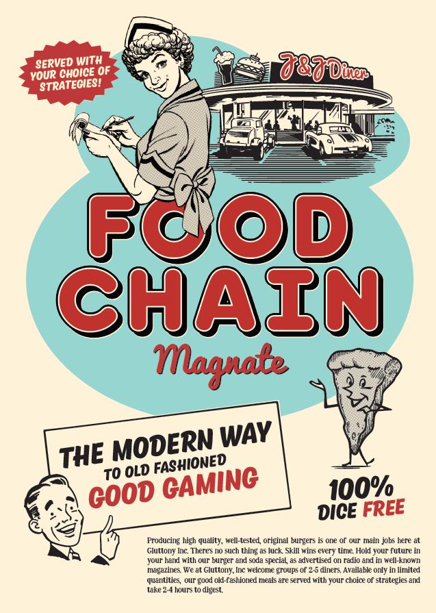 настольная игра Food Chain Magnate Пищевая цепь Магнат