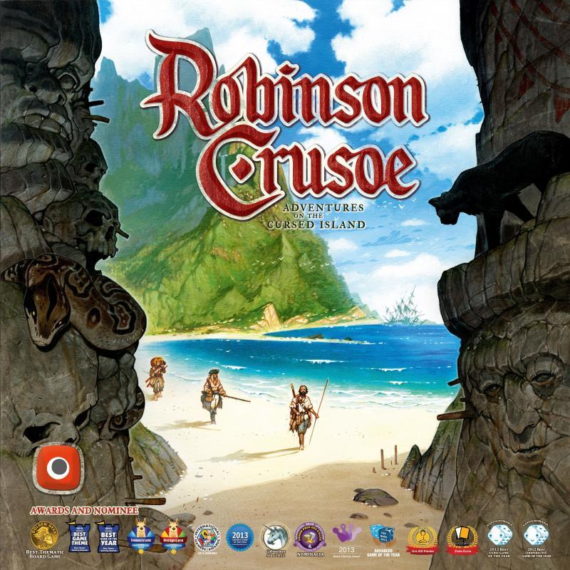 настольная игра Robinson Crusoe: Adventures on the Cursed Island Робинзон Крузо: приключения на проклятом острове