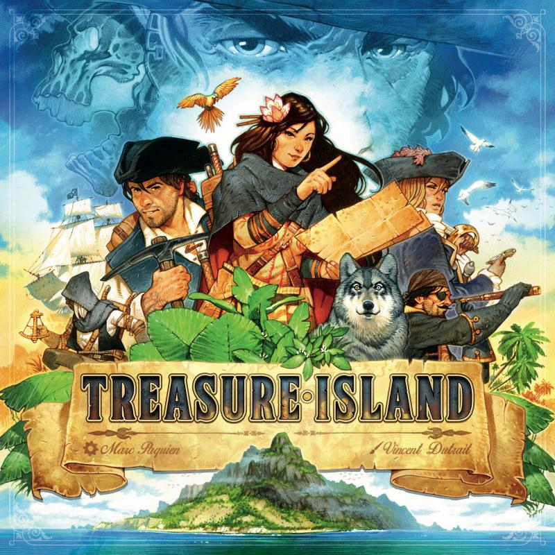 настольная игра Treasure Island Остров сокровищ