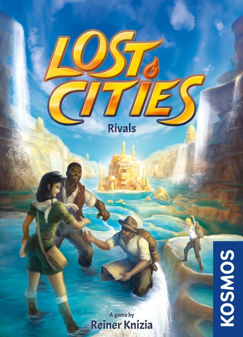 настольная игра Lost Cities: Rivals Затерянные города: соперники