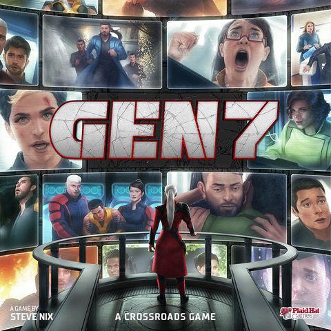 настольная игра Gen7: A Crossroads Game Gen7: игра Перекресток