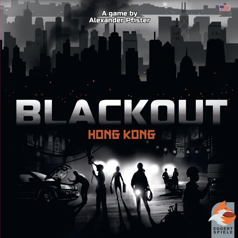 настольная игра Blackout: Hong Kong Затмение: Гонконг