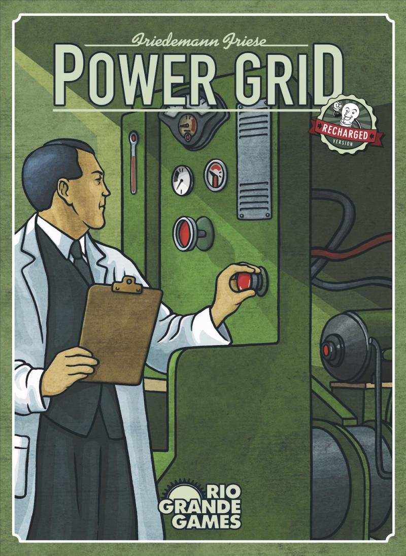 настольная игра Power Grid Энергосистема