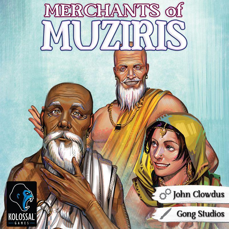 Merchants of Muziris игра