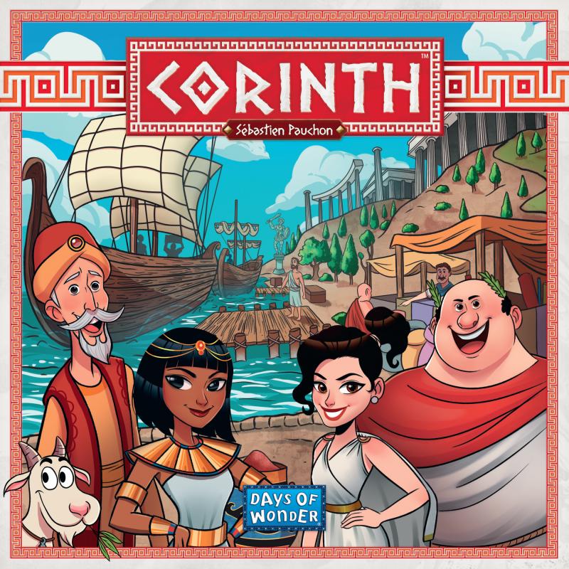 Настольная игра Коринф Corinth