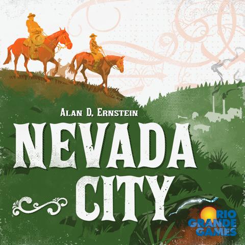 настольная игра Nevada City Город Невада