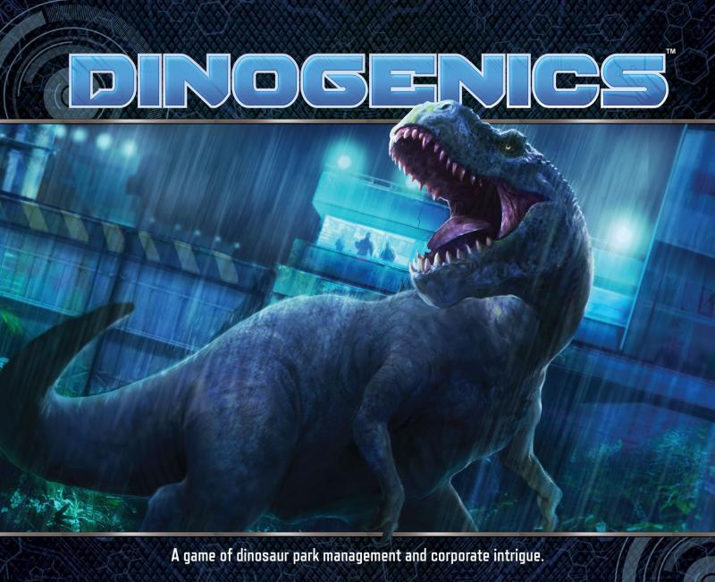 настольная игра DinoGenics