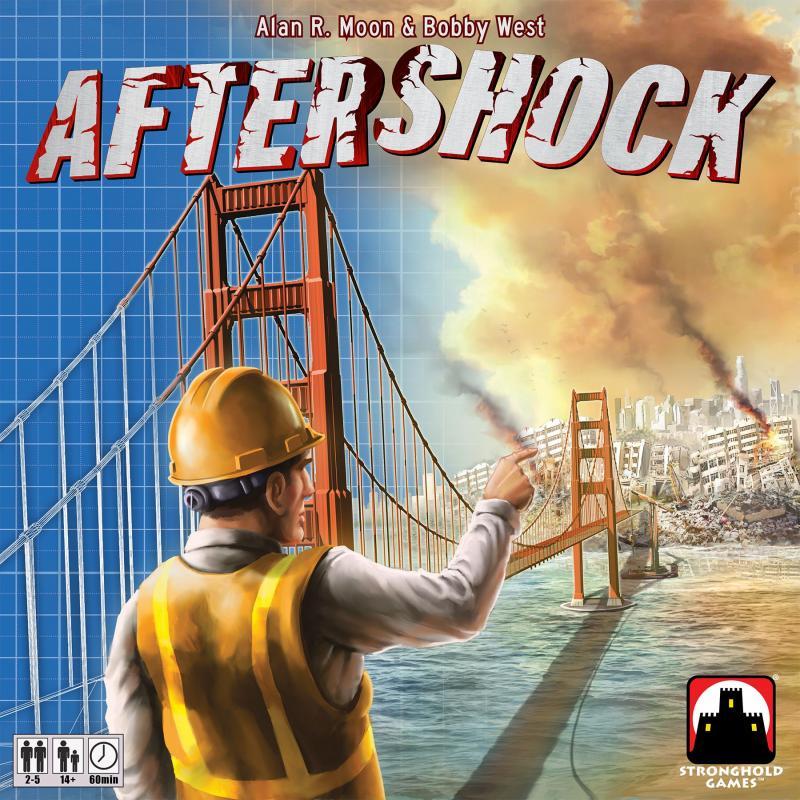 настольная игра Aftershock Толчок после землетрясения