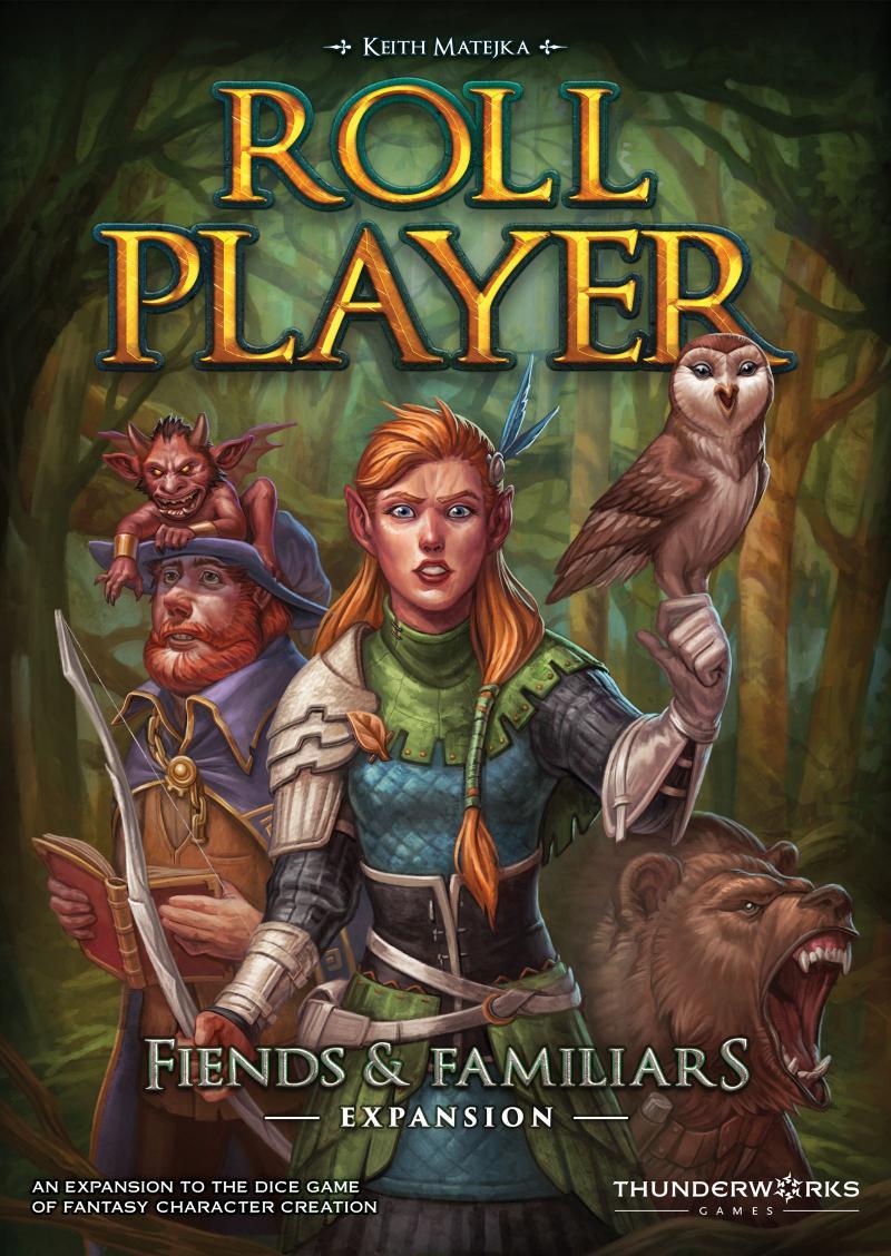 настольная игра Roll Player: Fiends & Familiars Игрок ролл: Изверги и Фамильяры