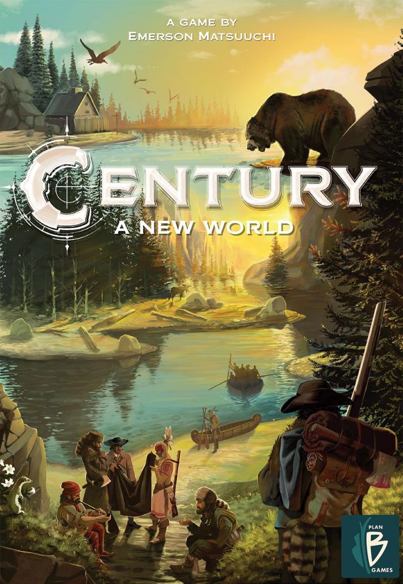 настольная игра Century: A New World Век: новый мир