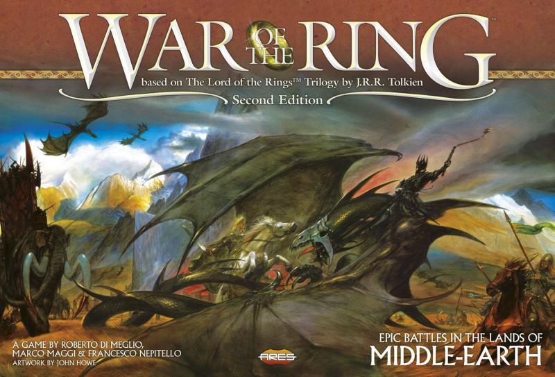 настольная игра War of the Ring (Second Edition) Война Кольца (Второе издание)