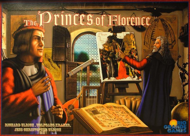 настольная игра The Princes of Florence Князья Флоренции