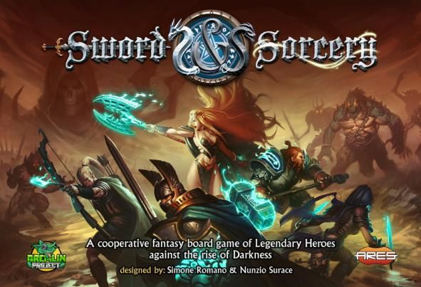 настольная игра Sword & Sorcery Меч и Волшебство