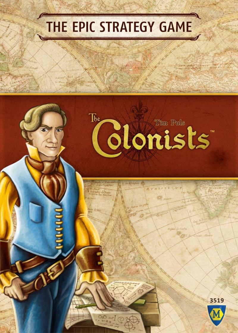 настольная игра The Colonists Колонисты