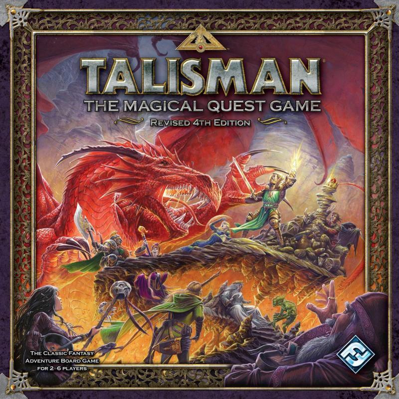 настольная игра Talisman (Revised 4th Edition) Талисман (пересмотренное 4-е издание)