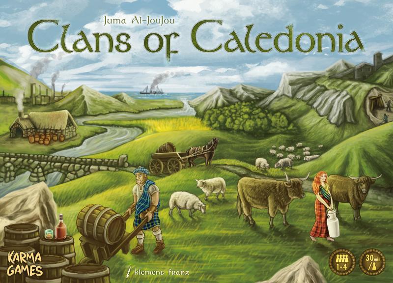 настольная игра Clans of Caledonia Кланы Каледонии