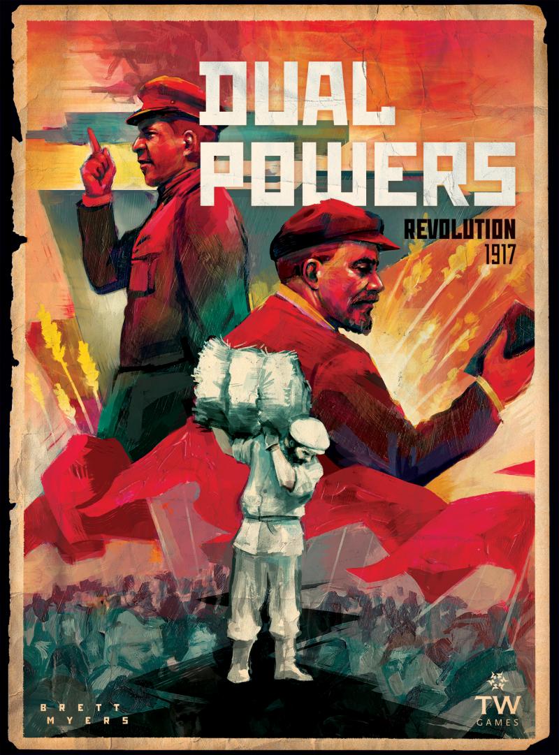 настольная игра Dual Powers: Revolution 1917