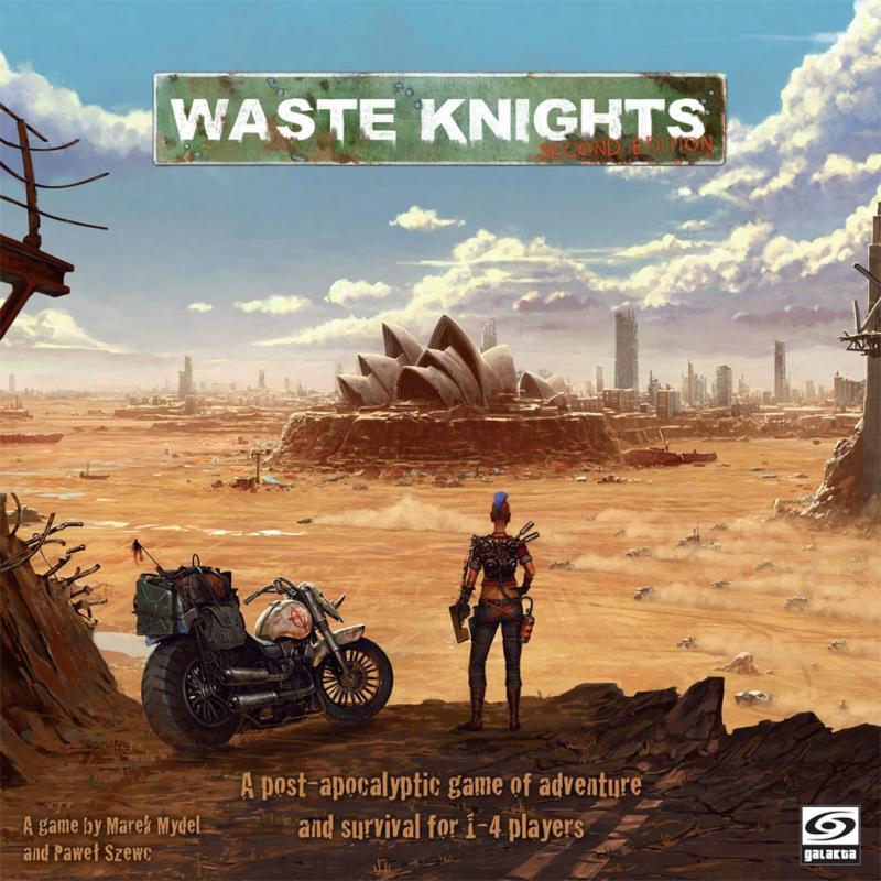 настольная игра Waste Knights: Second Edition Waste Knights: второе издание