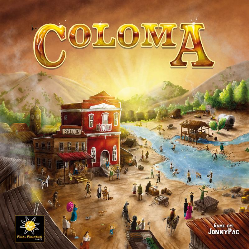 настольная игра Coloma Колома