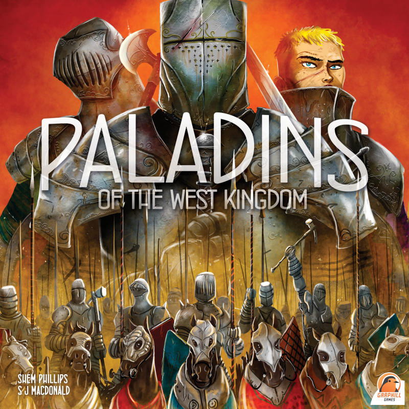 настольная игра Paladins of the West Kingdom Паладины западного королевства