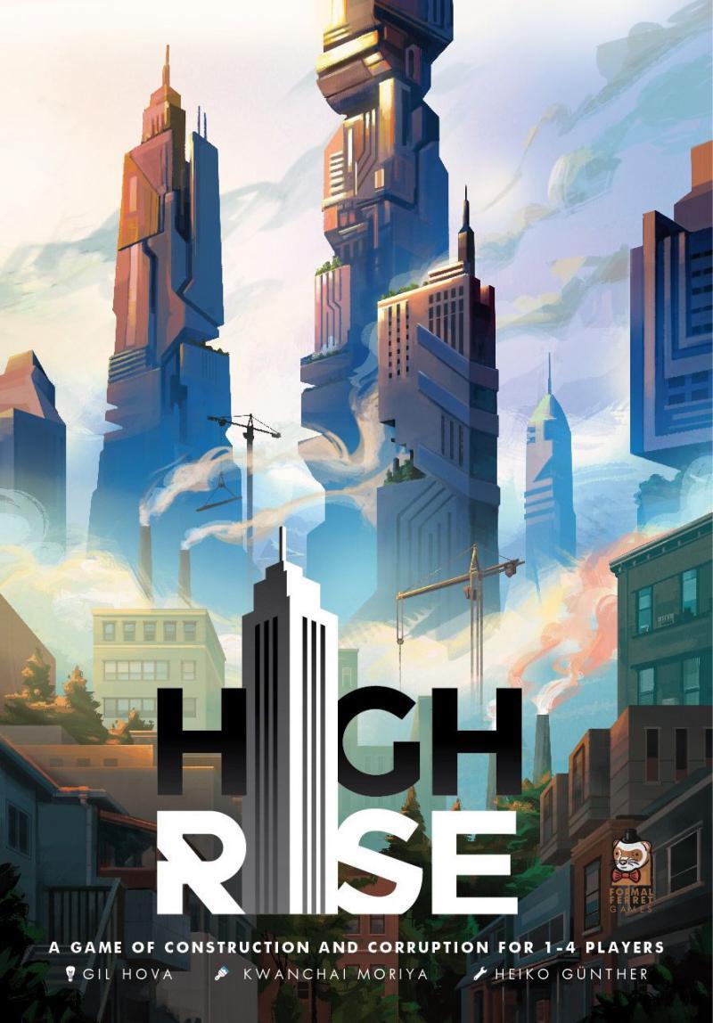 настольная игра High Rise Высокий рост