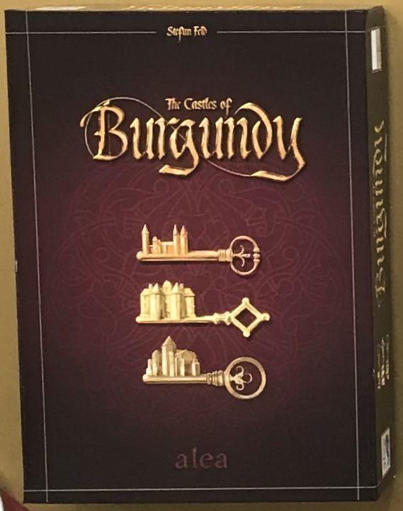 настольная игра The Castles of Burgundy (2019) Замки Бургундии (2019)