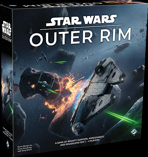 настольная игра Star Wars: Outer Rim Звездные войны: Внешняя оправа