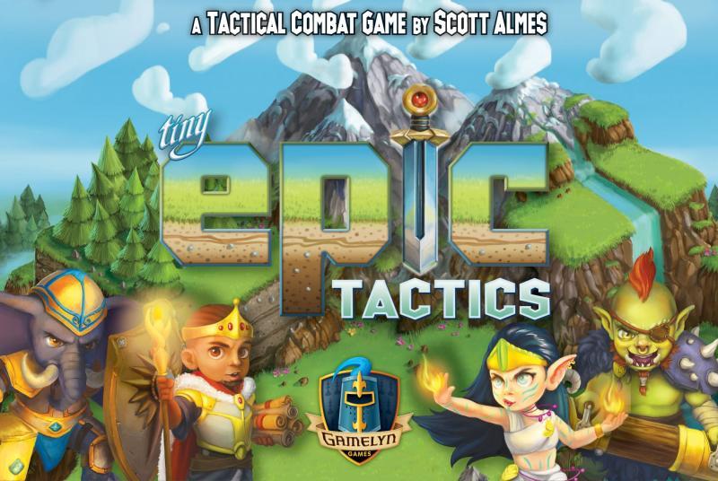 настольная игра Tiny Epic Tactics Крошечная Эпическая Тактика