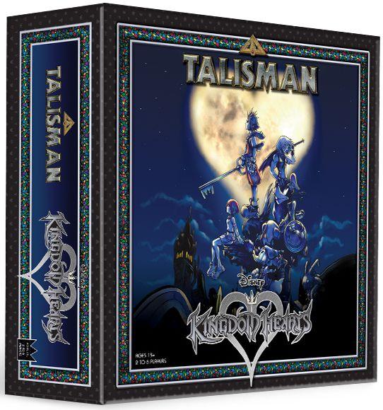 настольная игра Talisman: Kingdom Hearts Талисман: Королевство сердец