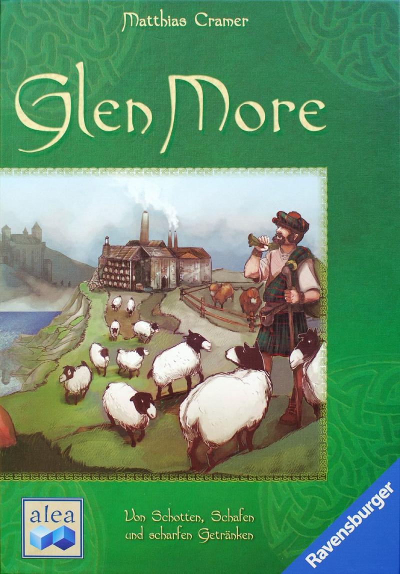 настольная игра Glen More Глен Море