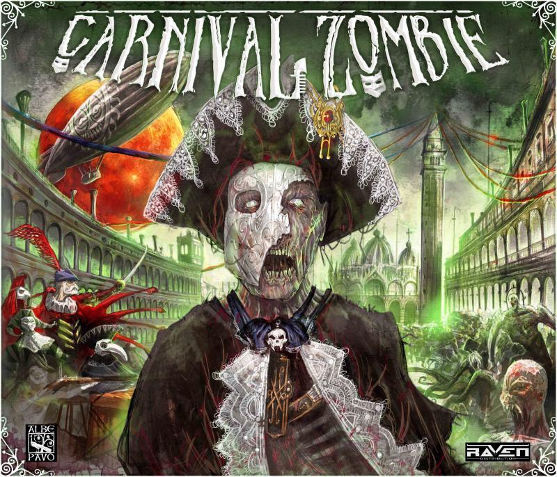 настольная игра Carnival Zombie Карнавал Зомби