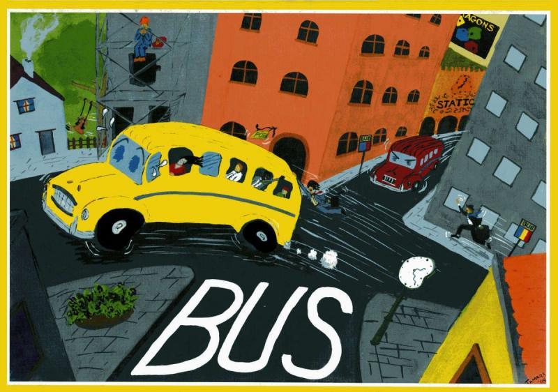 настольная игра Bus Автобус