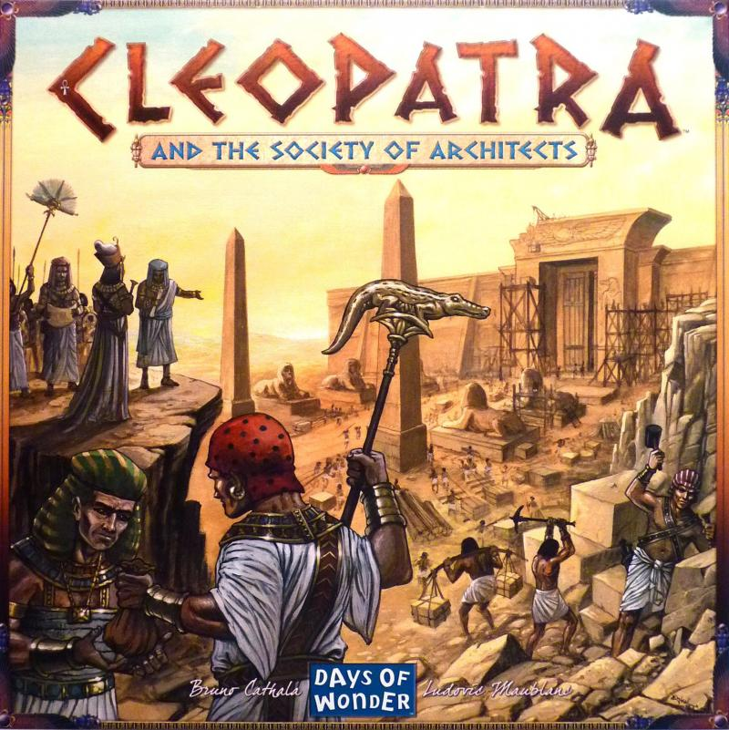 настольная игра Cleopatra and the Society of Architects Клеопатра и Общество Архитекторов