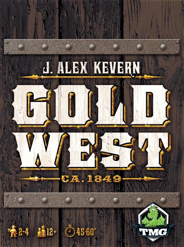 настольная игра Gold West Золотой Запад