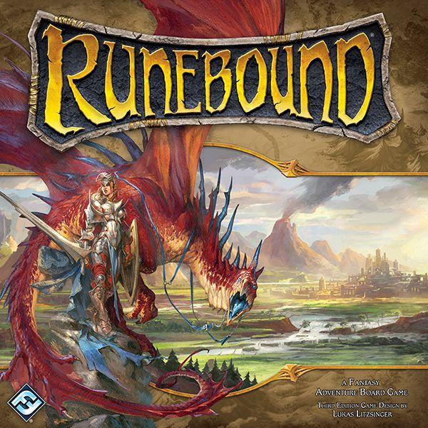 настольная игра Runebound (Third Edition) Рунический (Третье издание)
