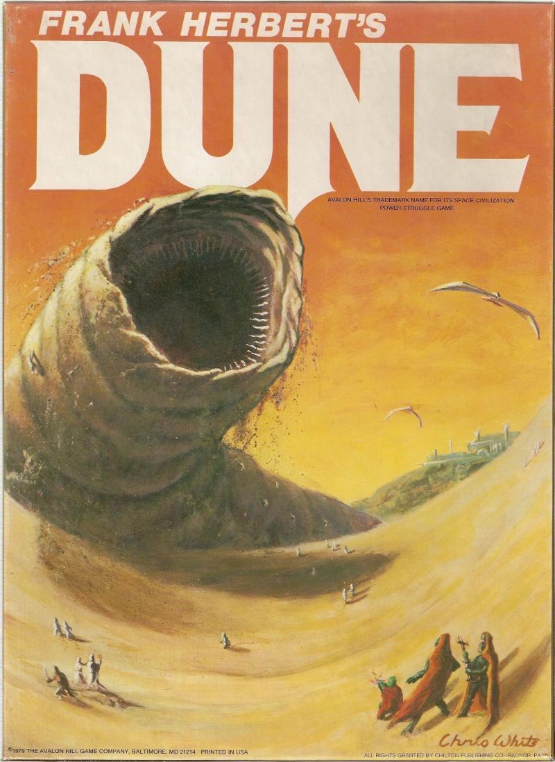настольная игра Dune Дюна