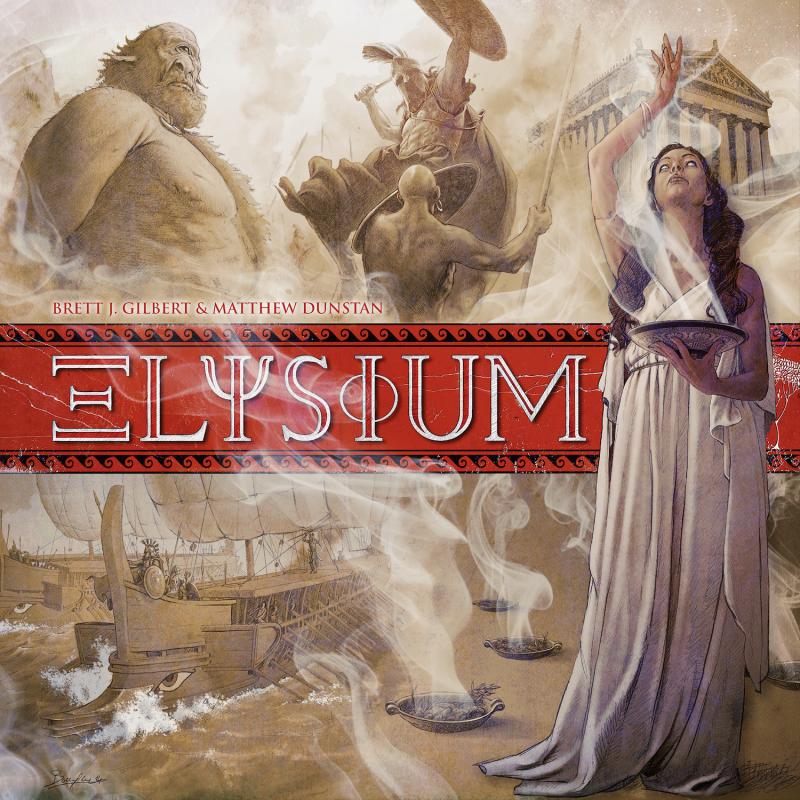 настольная игра Elysium Элизиум