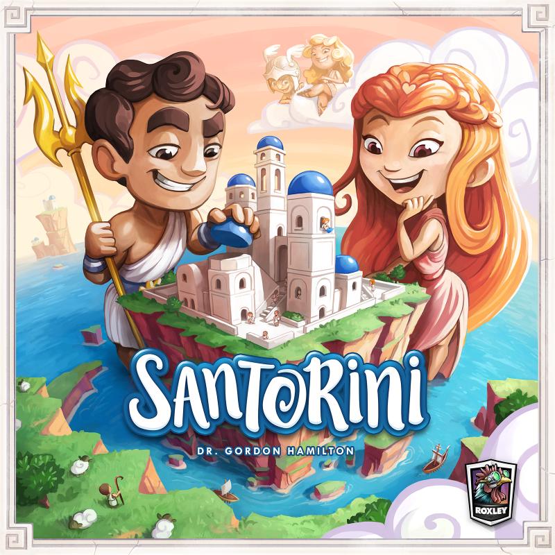 настольная игра Santorini Санторини
