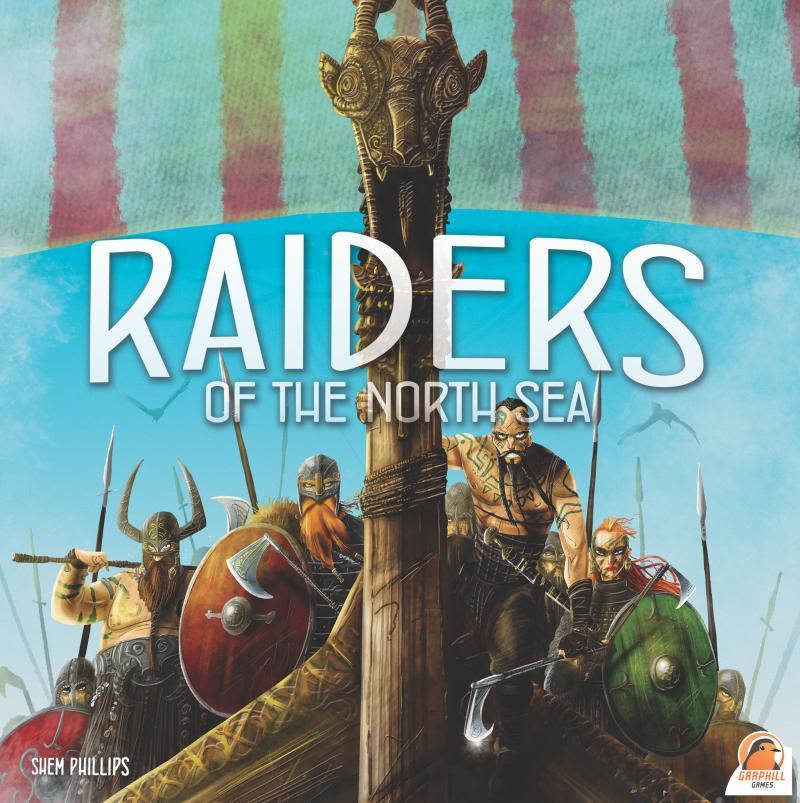 настольная игра Raiders of the North Sea Рейдеры Северного моря