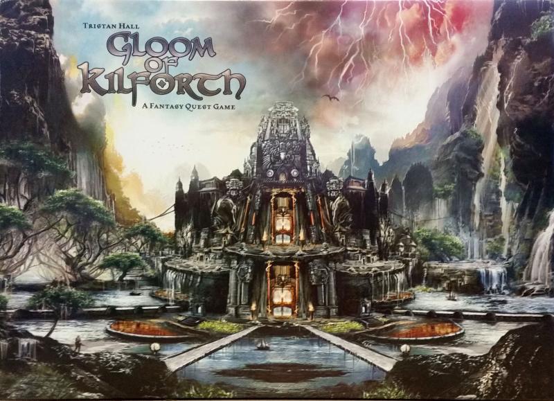 настольная игра Gloom of Kilforth: A Fantasy Quest Game Мрак Килфорта: фэнтезийная игра