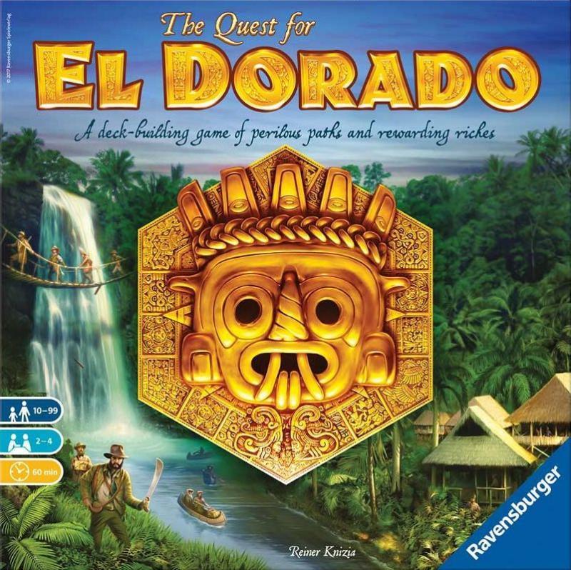 настольная игра The Quest for El Dorado В поисках Эльдорадо