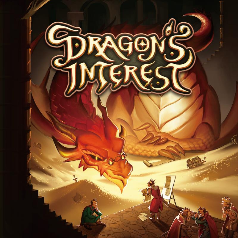 настольная игра Dragon's Interest Интерес Дракона