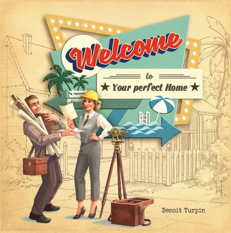 настольная игра Welcome To... Добро пожаловать в...