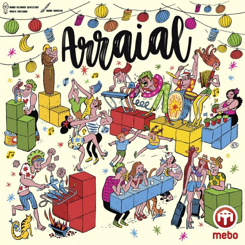 настольная игра Arraial Деревня