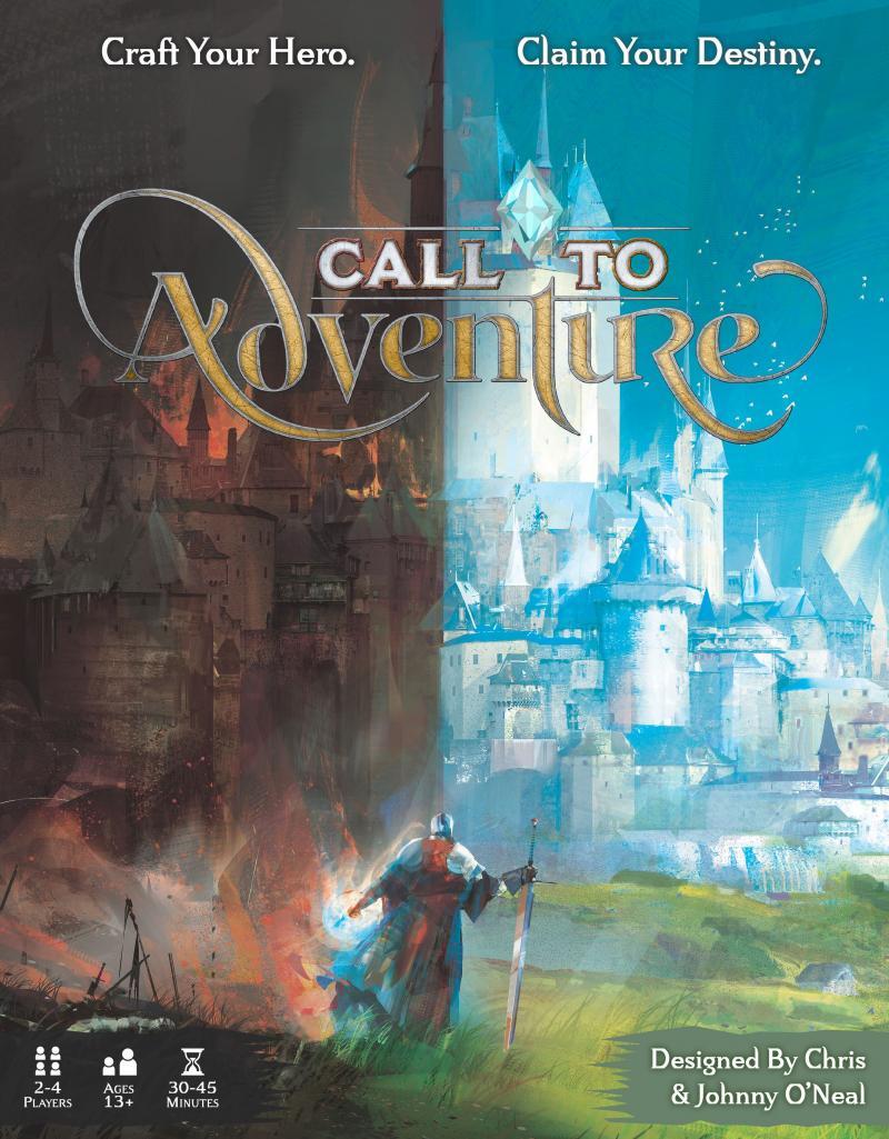 настольная игра Call to Adventure Призыв к приключениям
