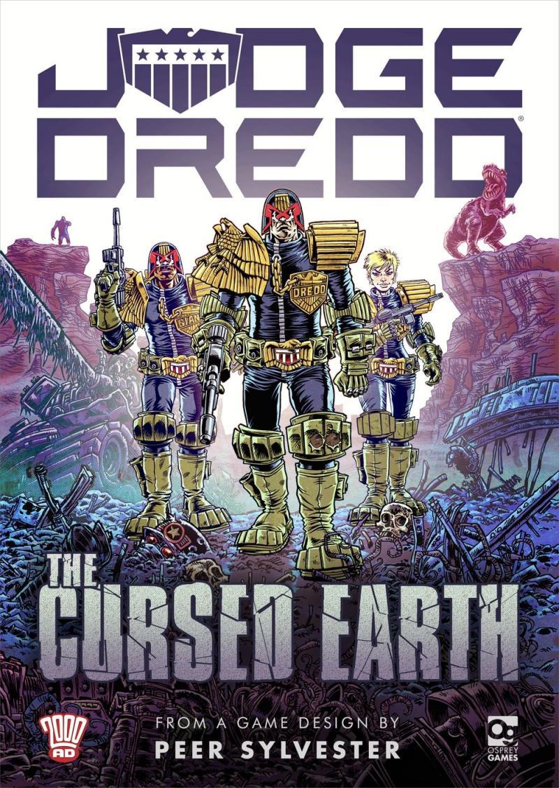 настольная игра Judge Dredd: The Cursed Earth Судья Дредд: Проклятая Земля