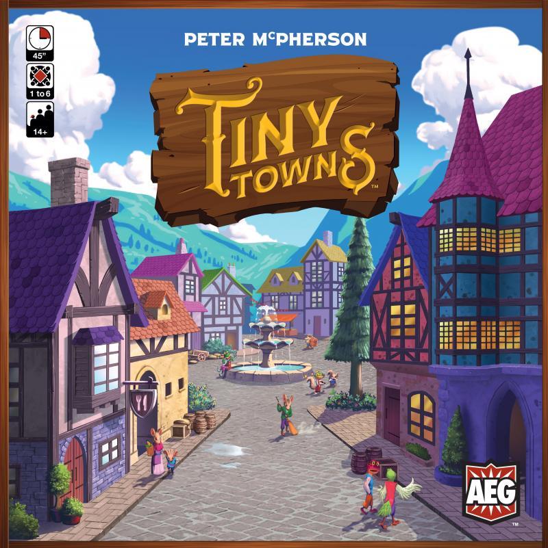 настольная игра Tiny Towns Крошечные Города